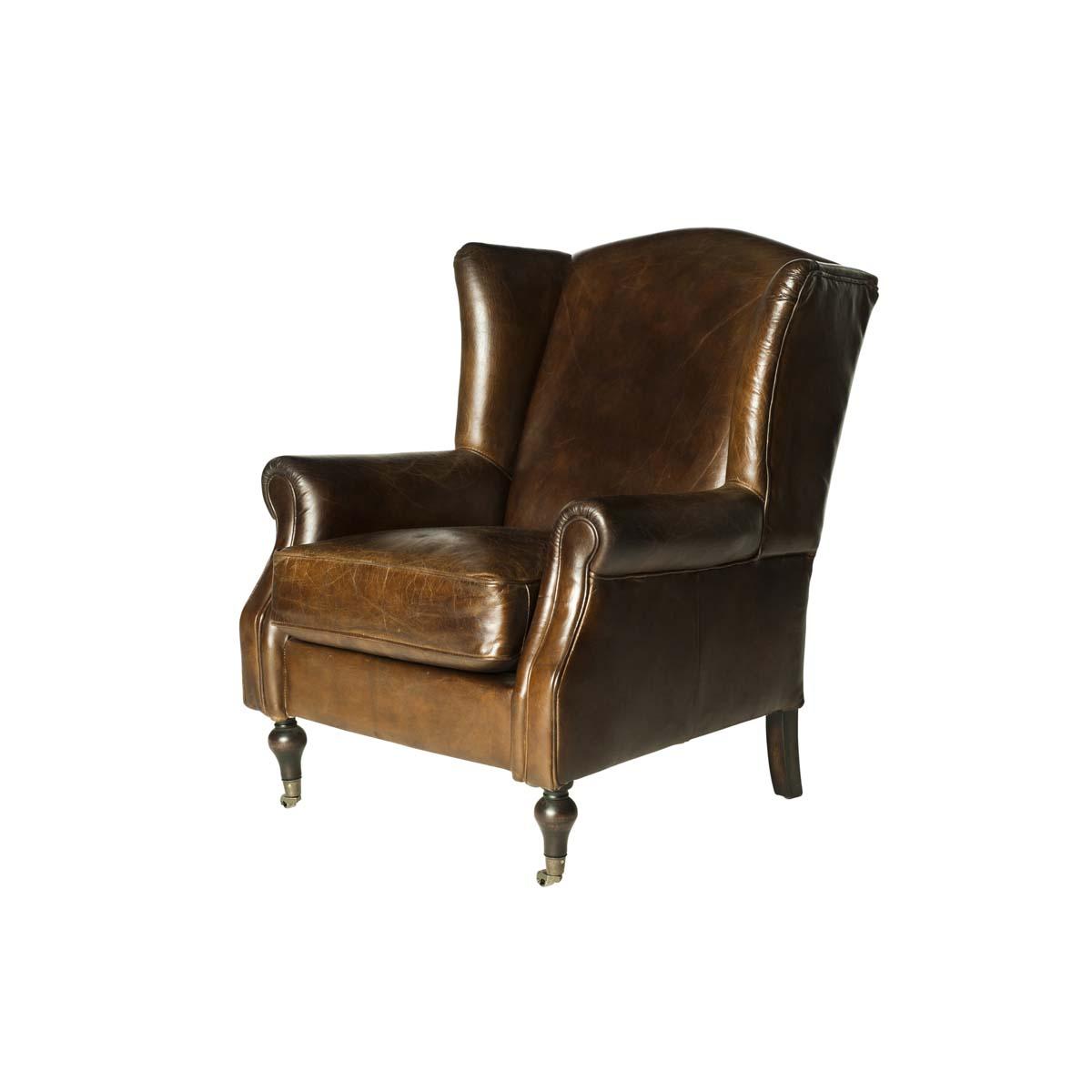 Oxford St. Wingback Armchair
