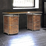 Desk - Industrial Deco Desk