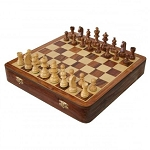 Lacquered Wood Chess Set