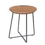 Organic Riga Stool / Side Table