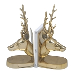 Bookends Deer Gold Colour
