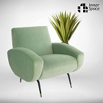 Jacqui chair desert olive