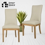 Dining chair - Mosman - plain linen