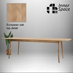 Nordic Extension Dining Table