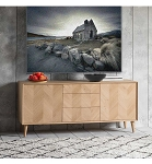 Nordic- Sideboard 2 door 3 drawer
