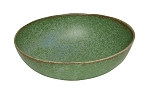 Japanese - Wabisabi green bowl oval