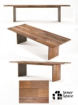 Woodstock dining table - 300 x 110cm panel leg - ONLY 2 AVAILABLE