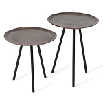 Alloy Tables - Set of Two