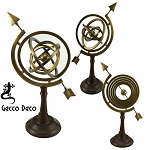 Armillary - large on sheathed base ARM0044B