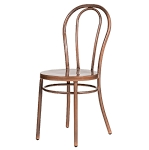 Bentwood chair - aged copper finish