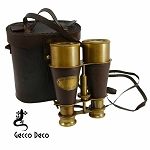 Binoculars with leather trim & case BIN0019 CASE