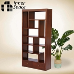 Box bookcase / room divider with drawers - CHOICE OF COLOUR