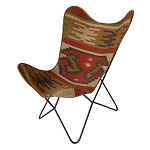 Butterfly Chair Kilim