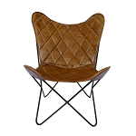Butterfly Chair Padded Leather