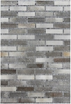 Rug Cali Leather Mix