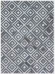 Rug Cali Diamond Leather Mix