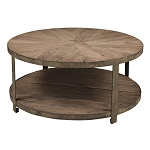 Cartwheel Table - Recycled Elm