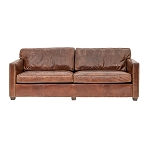 Chadwick Club Sofa - 3 seater Aged Vintage Leather