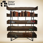 Daintree Natural Edge  Bookcase