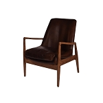 Denmark leather chair