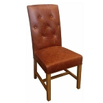 Denver Leather Dining Chair