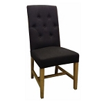 Denver Fabric Dining Chair - choice of 2 colours