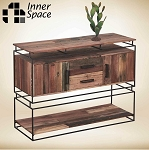 Edo console table / display unit