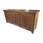 Recycled Australian Hardwood Push Closure 3 Drawer Buffet