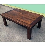 Recycled Australian Hardwood Custom Built Coffee Table - please contact us for pricing