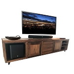 Media Unit Custom Built - Recycled Australian Hardwood