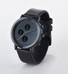 Black front with leather strap
