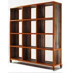 Industrie 12 Hole Storage Unit/ Bookcase 1 x ORANGE FLOOR STOCK AVAILABLE $1795.00