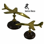 Aeroplane - jet fighter on leather stand APL0034