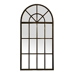 Arched Iron Window Mirror XL