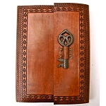Journal - Leather with Key