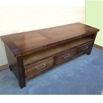 Recycled Australian Hardwood Leura 3 Drawer Entertainment Unit