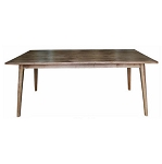 Malibu Dining Table 180 x 85 x 76cm pictured - OTHER SIZES AVAILABLE