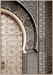 Moroccan Arched Door