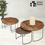 Partner nesting tables - set of two