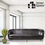 Dietrich Sofa - Black Leather
