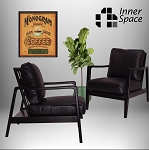Onyx Leather Armchair
