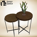 Daintree Set 2 Round  Coffee / Side Tables