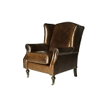 Oxford St. Wingback Armchair