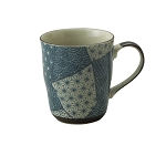 Tableware - Japanese  ceramic - Mug Patchwork