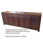 Recycled Australian Hardwood Custom Built Buffet