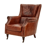 Salisbury Aged Leather Arm Chair