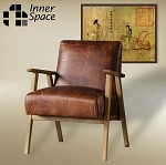 Santa Fe armchair - leather