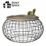 Sea Urchin - round coffee table