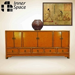 Shanghai Sideboard / Buffet - burnt orange 6 door 5 drawer