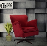Spin Doctor - swivel chair - red